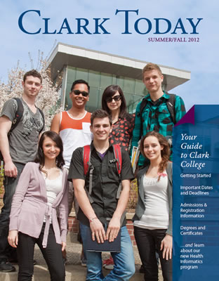 Cover of the summer-fall 2012 issue of Clark Today
