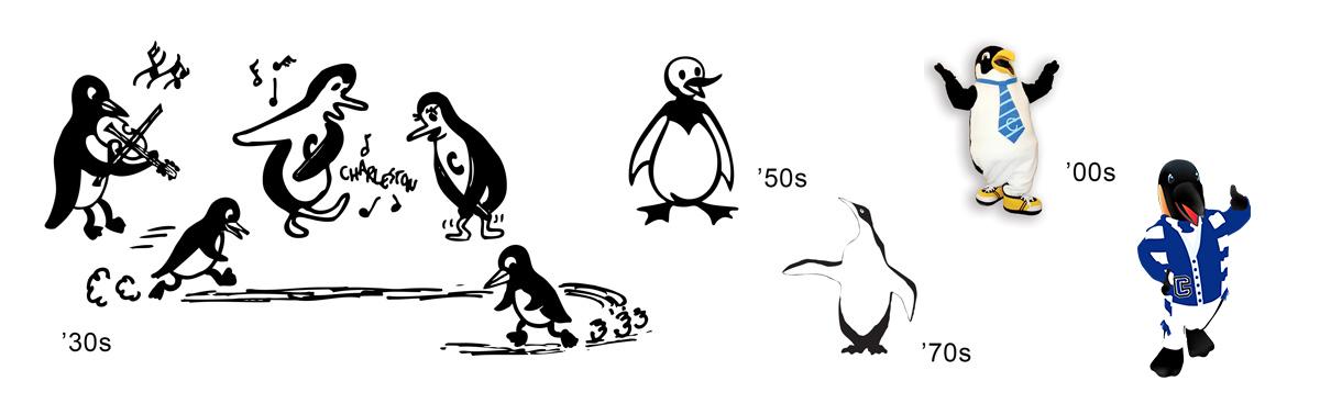Former Penguin historical images