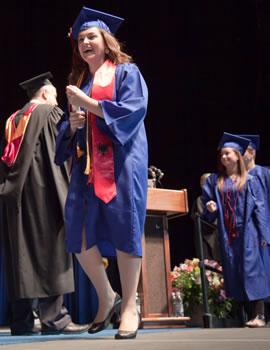Presidential Scholarship Recipient Inva Begolli