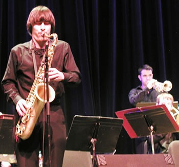 Tenor saxophonist David Floratos