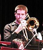 Trombonist Ian Garner