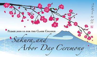 Image for Clark College Sakura Ceremony 2011