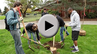 """Clark College Tree Planting Video–""""Expanding the Clark College Arboretum"""""""