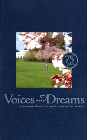 Cover of Clark's 75th anniversary commemorative book