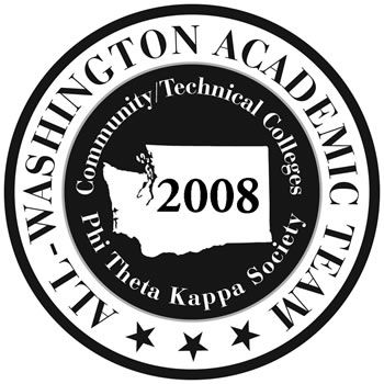 2008 All Washington Academic Team logo