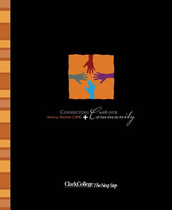 Cover of 2006 Clark College Annual Report
