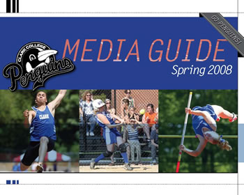 cover of the spring 2008 Clark College Athletics Media Guide