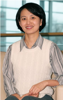 2008 All Washington Academic Team honoree Irina Ziyu