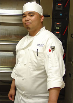 Culinary Arts student Jerome Chiong