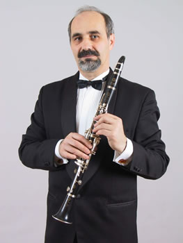 Julius Klein, solo clarinetist and executive director of the Slovak State Philharmonic