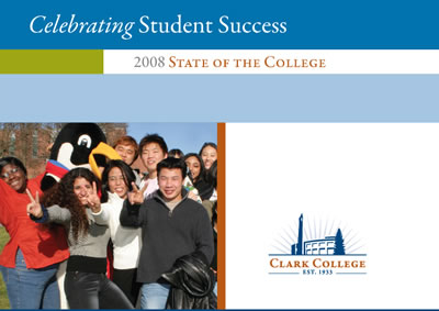 State of the College invitation cover