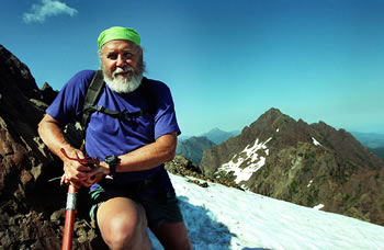 Author Seabury Blair, Jr. mountain climbing