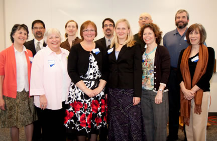 Clark College's 2010 newly tenured faculty members