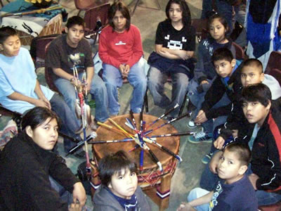 The High Rock Singers will be the Host Drum during a mini powwow at Clark College on May 21.�Photo courtesy:�Jim Roberts, High Rock Singers.