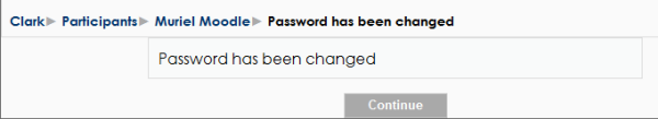 Password Success