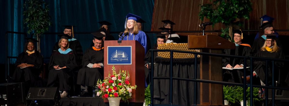 2016 Student Commencement Speaker