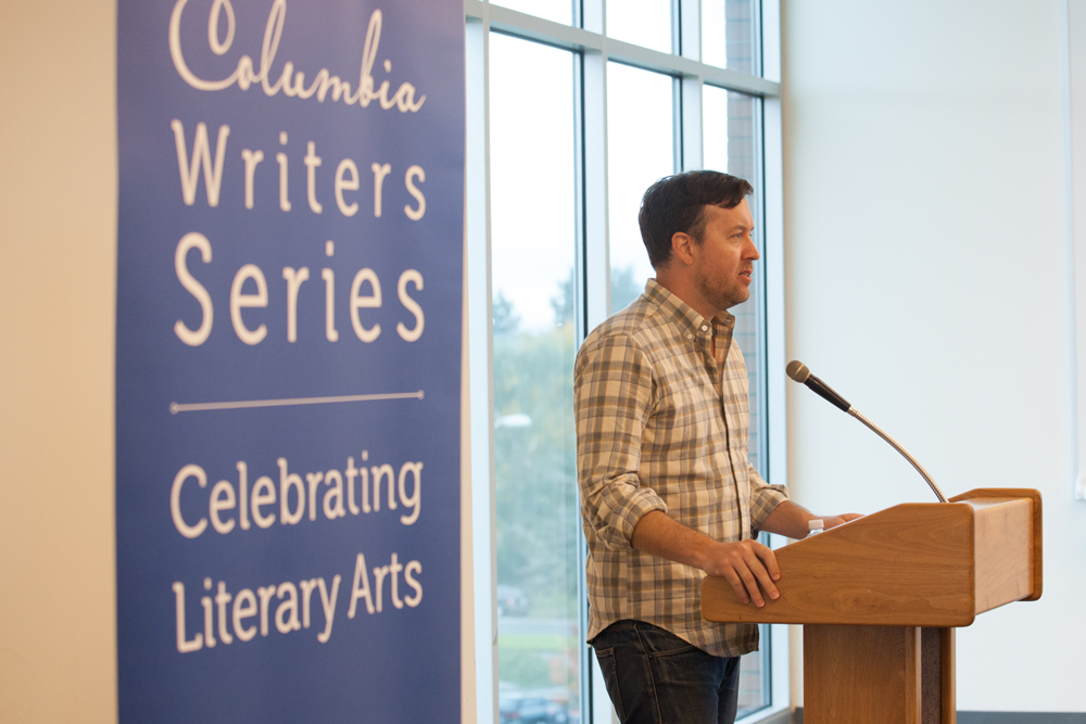 Benjamin Percy reads at the Columbia Writers Series