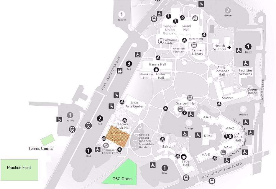 Clark College Campus Map Compressportnederland