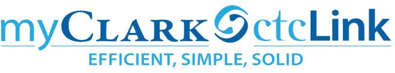 myClark ctcLink Logo