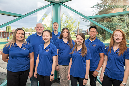 2017 student ambassadors are a diverse group of 5 women and 3 men.