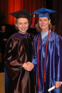 Governor Gregoire and Presidential Scholarship Winner Pamela Sullivan