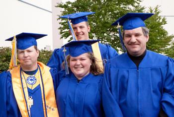 Clark graduates