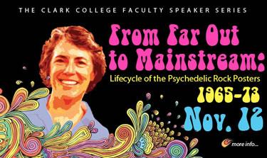 Poster for fall faculty speaker series presentation