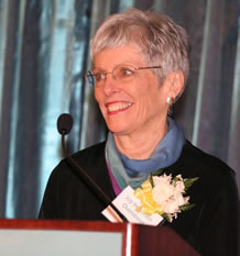 2007 Woman of Achievement Joy Imboden Overstreet
