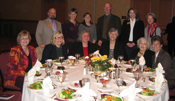 Clark College Foundation leadership, staff and supporters joined in the Women of Achievement celebration.
