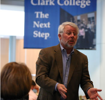 Dr. Jeffrey Wigand, 2006 Clark College Distinguished Lecturer
